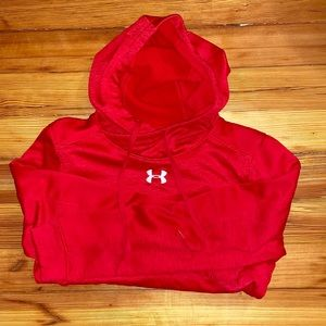 Red Under Armour Women's Hoodie